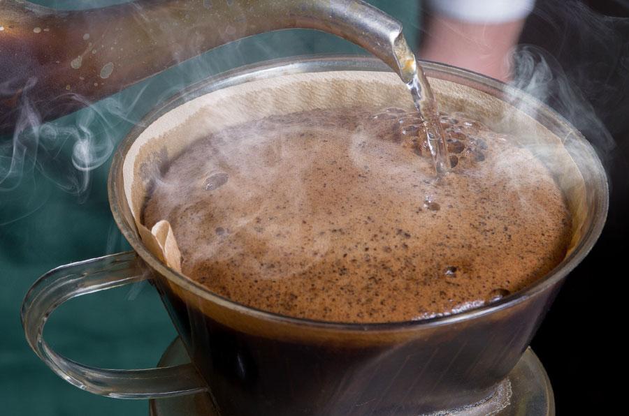 自家焙煎のオリジナルブレンドコーヒー